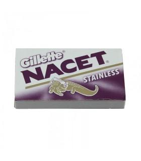 Gillette Nacet Stainless Acélmenes Borotvapenge 5db