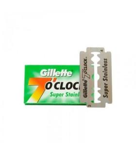 Gillette 7 Oclock Super Stainless Szuper Acélmentes Borotvapenge 5db