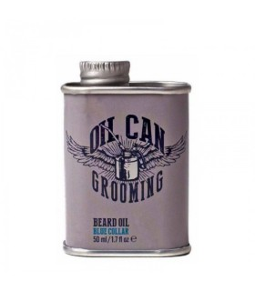 Oil Can Grooming Blue Collar szakállolaj 50ml